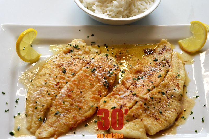 Filet De Merlan A La Meuniere 30 Minutes En Cuisine